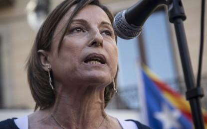 "Carta de Marichalar a Forcadell, ""presidenta golpista del Parlamento regional de Cataluña"""