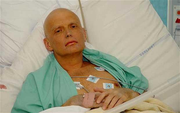 La víctima envenenada, Alexander Litvinenko. Lasvocesdelpueblo