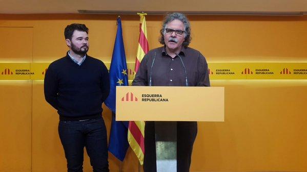 """ERC veta los presupuestos de Sánchez y exige """"referéndum"""" y libertad de presos"""