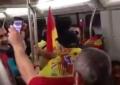 """Vídeo: Legionarios cantando en """"un metro de Barcelona"""", Cataluña"""