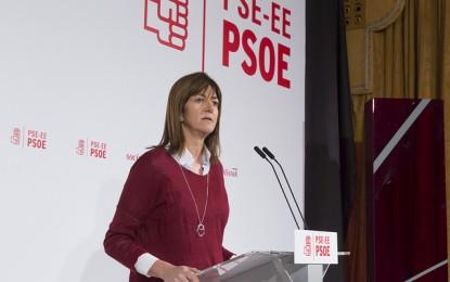 """""""Mientras el PSOE esté en el Gobierno Vasco, nada fuera de la legalidad y el PNV sabrá con quién anda"""""""