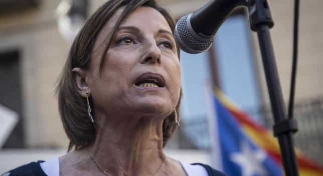 Forcadell dice que será la candidata de su partido (ERC) a las elecciones españolas del 21-D