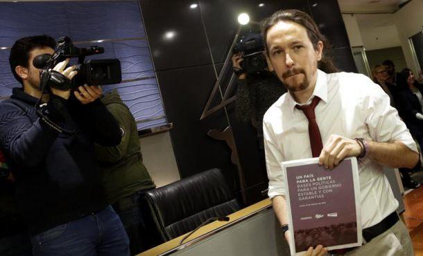 Podemos marca el referéndum en Cataluña como imprescindible en la oferta al PSOE