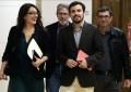 """Garzón negocia un acuerdo """"programático"""" que le permita """"apoyar la investidura"""" de Sánchez"""