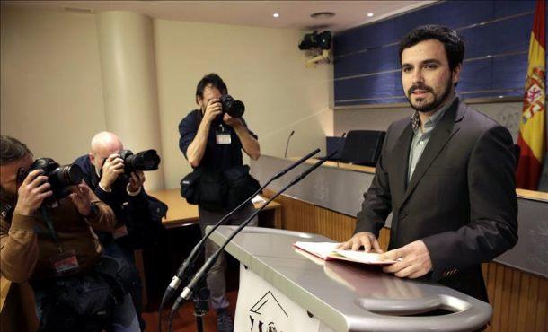 Representantes de IU que negocian con el PSOE avanzan en distintos compromisos sobre regeneración