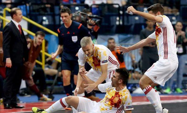 La selección Española logra su séptimo título europeo con gran autoridad ante Rusia 3-7