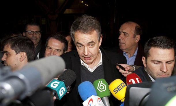 """Zapatero: """"Ya tuve la etapa en la que me juzgaban, voy a dar mi apoyo y a desear que salgan lo mejor"""""""