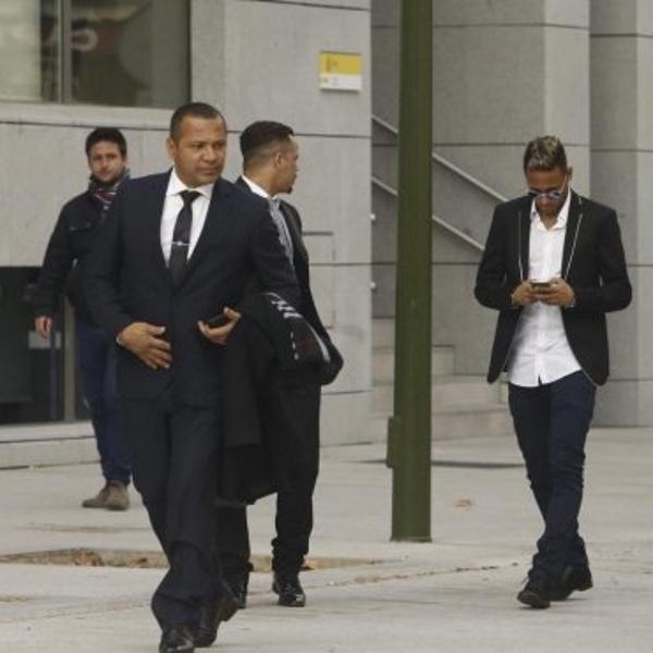 Neymar llega a la Audiencia Nacional para declarar por una presunta estafa en su fichaje