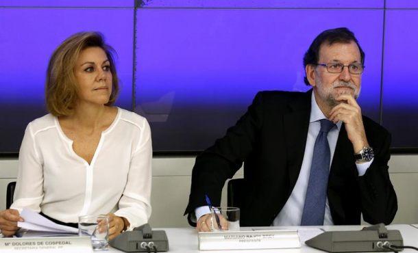 """Mariano Rajoy pide a la militancia del PP evitar la """"histeria"""" ante los casos de corrupción del PP"""
