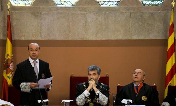 """El presidente del TSJC pide que """"nadie"""" busque soluciones al separatismo en los Tribunales"""