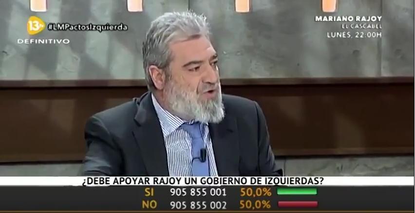"""El portavoz del Gobierno del PP de Aznar: """"El PP es más corrupto que un banco chino; no puede ser"""""""