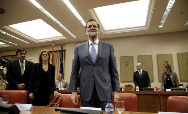 """Rajoy: El PP votará """"'NO' a la investidura de Sánchez tanto si viene apoyado"""" por Ciudadanos"""