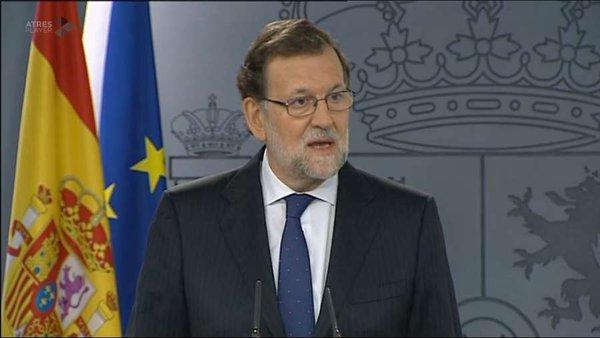 """Rajoy: """"He dicho al Rey que todavía no tengo mayoría para forma un Gobierno y vamos a esperar"""""""