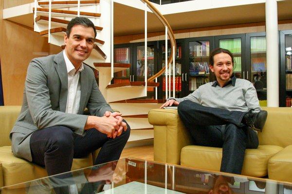 """Sánchez: """"No vamos a buscar el apoyo"""" de los separatistas y critica """"la exclusiva y excluyente"""" de Podemos"""