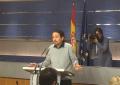 """Iglesias rechaza entrar en negociaciones con el PSOE porque quiere gobernar sin """"las derechas"""""""