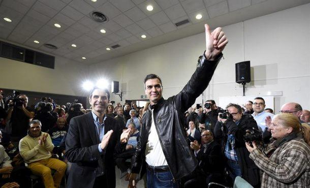 Pedro Sánchez acude al Comité Federal del PSOE fortalecido por el aval de las bases del partido