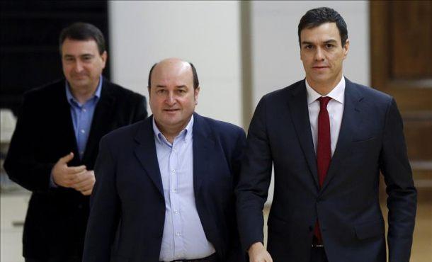 """Sánchez: """"Hay mimbres para alianza progresista, el documento no se va a mandar a PP, ERC, DyL ni Bildu"""""""