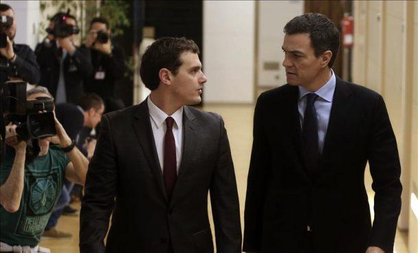 """Sánchez: """"Hay espacios comunes donde PSOE y Ciudadanos se pueden entender"""""""