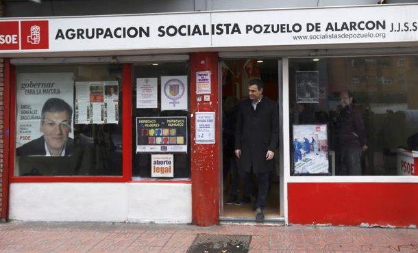 """Sánchez pide a la militancia votar con """"orgullo"""" un pacto """"coherente"""" con principios del PSOE"""