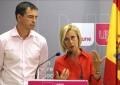 La fundadora de UPyD Rosa Díez y su sustituto al frente del mismo se dan de baja del partido