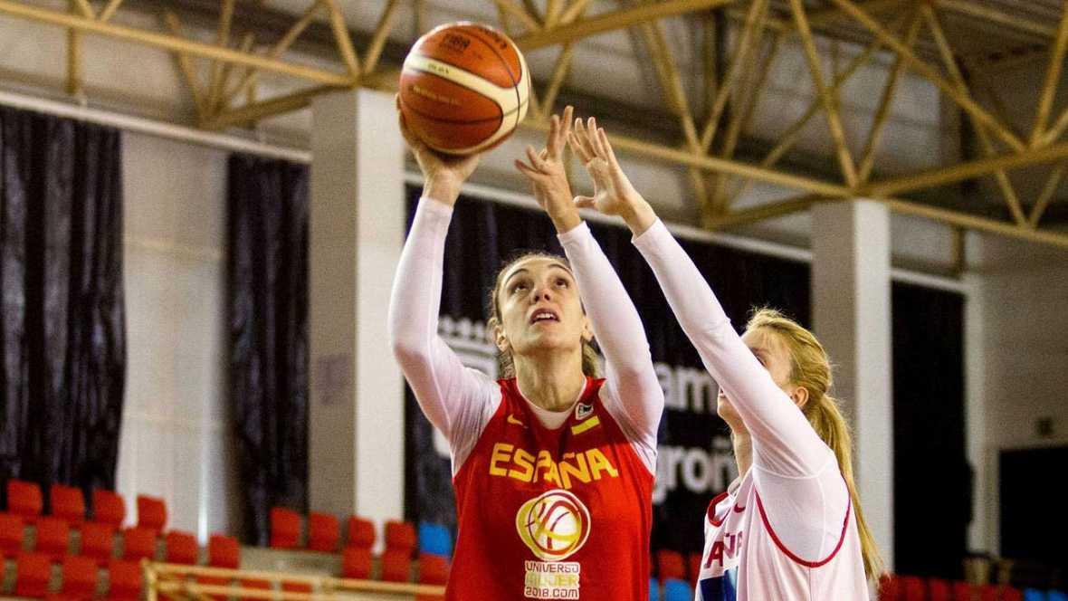La selección española de baloncesto arrolla a Suecia y asegura su presencia en el Europeo