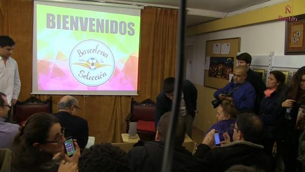 Cataluña acoge con gran éxito el acto de presentación de 'Movimento Barcelona Con la Selección'