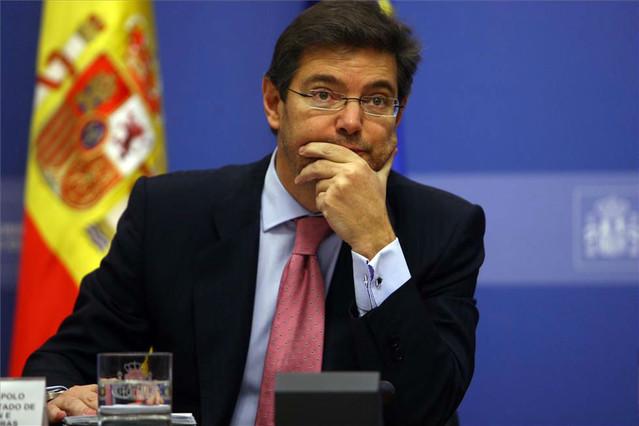 """Justicia cree que la dimisión de Aguirre es """"personal"""" que no es extrapolable a Mariano Rajoy"""