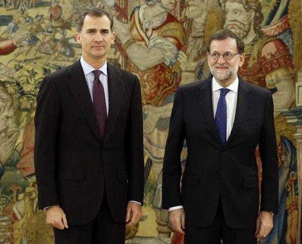 Concluye la reunión de Rajoy con el Rey que cierra la ronda de consultas