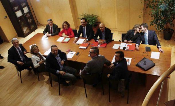 Ciudadanos (C's) y PSOE vuelven a verse para intentar cerrar un acuerdo de Gobierno