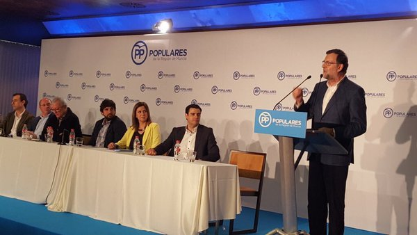 """Rajoy: """"El PP reivindica su derecho a presidir el próximo Gobierno de España"""" porque """"ganó el 20-D"""""""