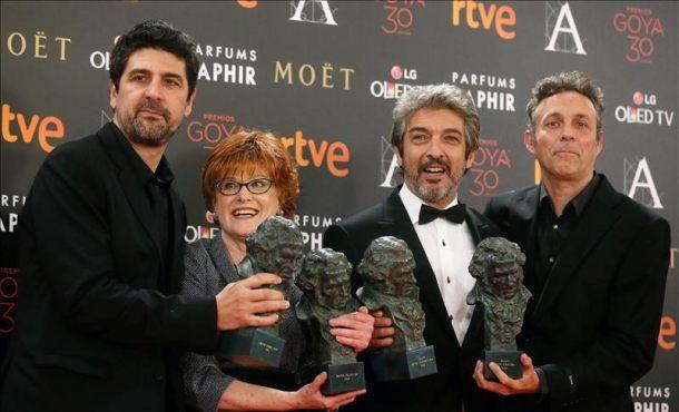 Truman de Cesc Gay la gran triunfadora de los 30 Premios Goya 2016 con cinco galardones