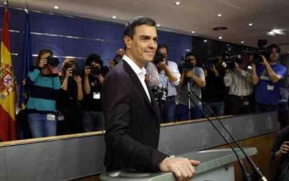 """Sánchez e Iglesias llegan al acuerdo """"vía 199"""" e Iglesias no será en el Gobierno"""