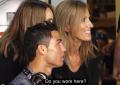 """Cristiano Ronaldo tomando café en un terraza en Madrid: """"Llamáis a vuestras amigas, vamos las 2"""""""