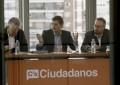 """Rivera pide al PP """" bajar a la arena"""" para evitar """"un gobierno populista y separatista o elecciones"""""""