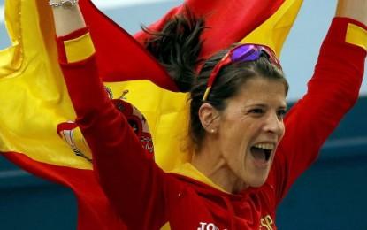 La española Ruth Beitia se encarama  al primer puesto del ránking mundial del año: saltó 1,98m