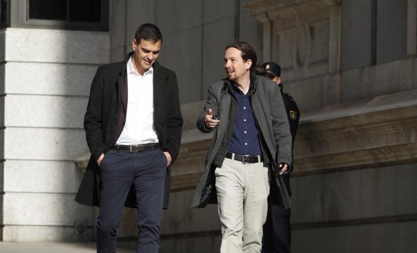Iglesias y Sánchez pactan una candidatura para controlar Radiotelevisión española