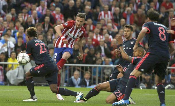 Un golazo sensacional de Ñíguez abre el camino del Atlético hacia la final de la Liga de Campeones