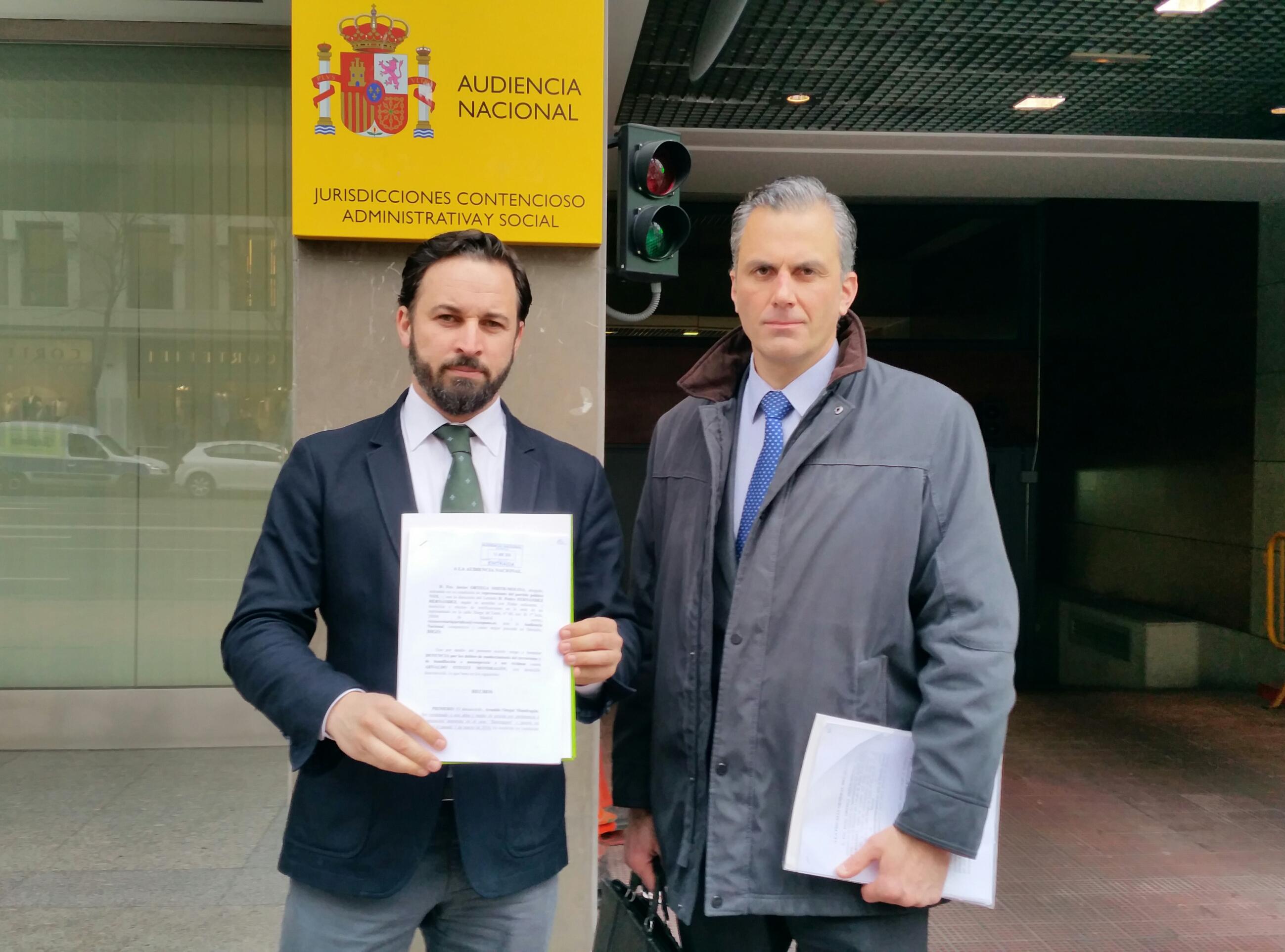 VOX denuncia a Otegui por enaltecimiento del terrorismo y humillación a las víctimas de ETA