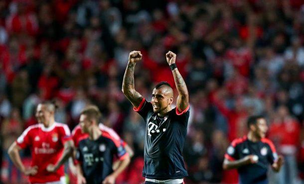 El Bayern sufre para superar a un meritorio Benfica y pasa a semifinales (2-2)