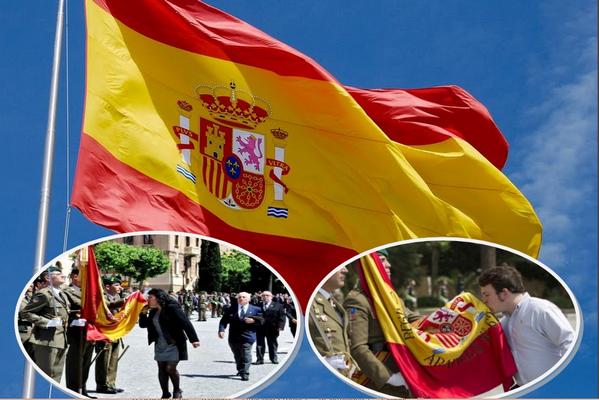 El Ejercito celebrará la «Jura de la Bandera» Nacional el próximo 7 de mayo en Barcelona