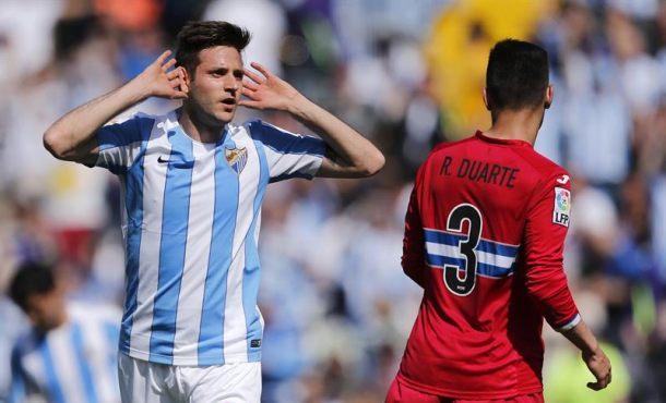 Málaga CF y el RCD Espanyol firman tablas en un partido gris  (1-1)