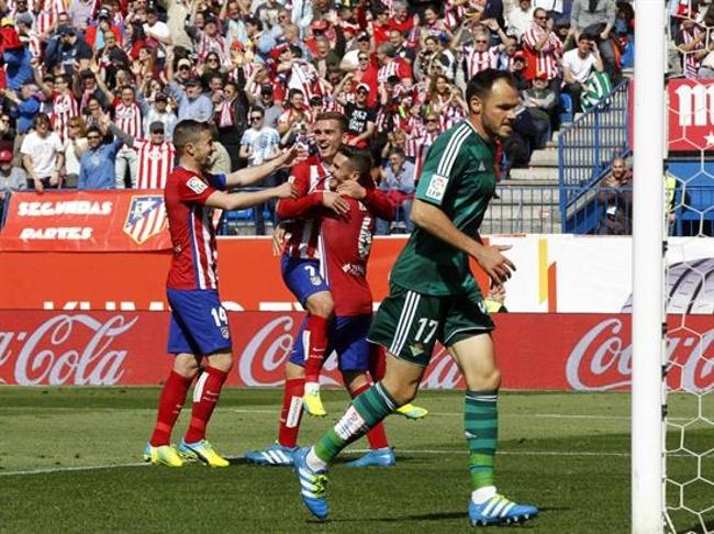 El Atlético de Madrid retoma la Liga: Goleada de cantera, de superación y de Griezmann 5-1
