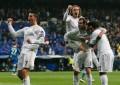 Cristiano, Benzema y Coentrao hacen trabajo físico con el grupo