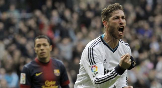 El internacional español Sergio Ramos jugará mañana su primer clásico con los 30 años