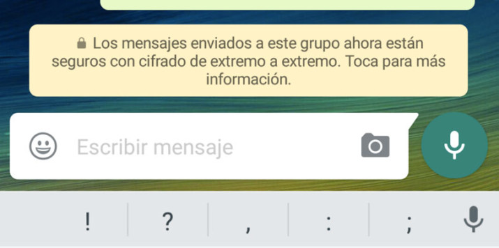 WhatsApp activa el nuevo cifrado extremo a extremo 100% seguro para los usuarios