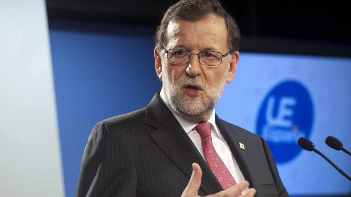 Rajoy defiende en Barcelona que no permitirá ninguna quiebra de la soberanía nacional