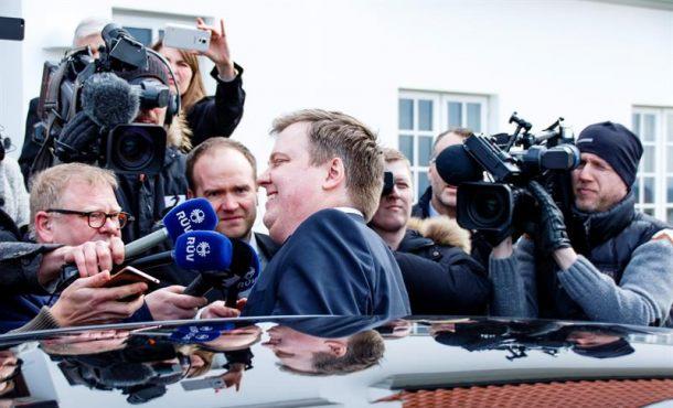 Dimite el primer ministro de Islandia  David Gunnlaugsson por los 'Papeles de Panamá'