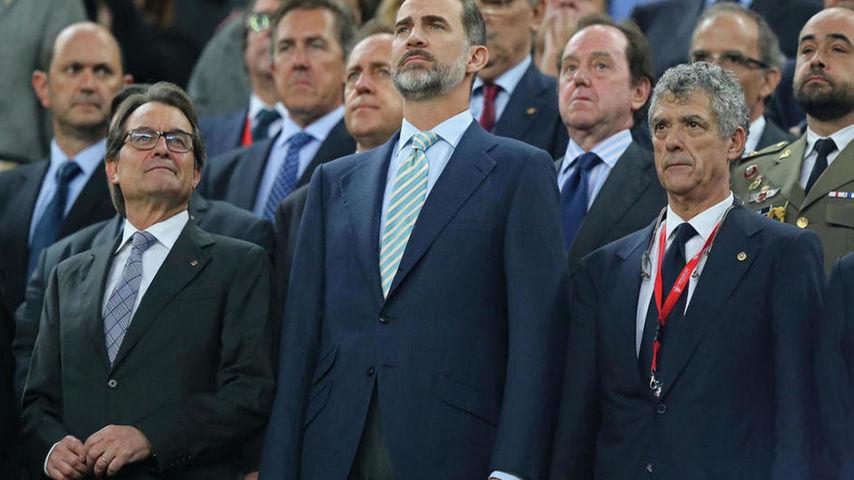 """El Tribunal pide investigar """"la vejación a símbolos"""" de España """"y al Jefe del Estado"""" en Cataluña"""