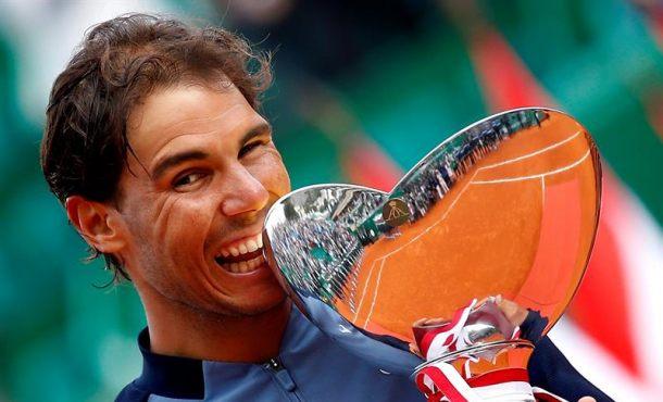 Ganar por novena vez el torneo de Montecarlo emocionó a Rafael Nadal como en la primera