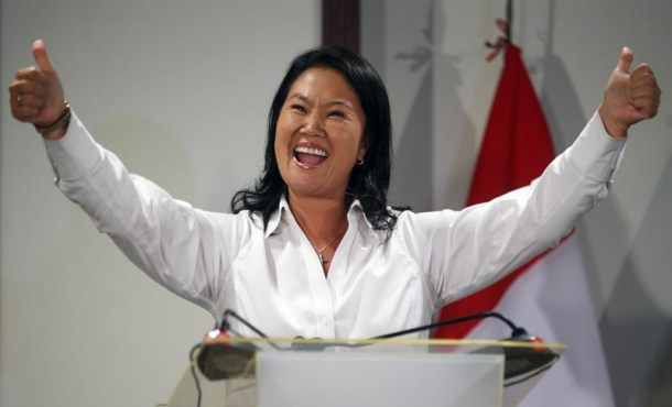 Keiko Fujimori gana en Perú pero irá a una segunda vuelta con Kuczynski